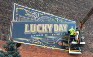 Lucky Day Graphic Installation