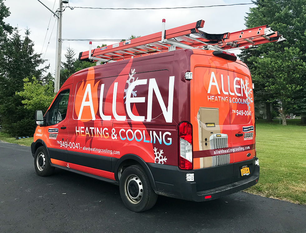 Vehicle Wrap & Graphic Install Pros in Buffalo, NY | Streamline Designs