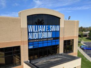 Hilbert College Auditorium graphics