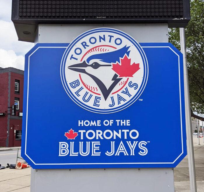 Toronto Blue Jays exterior signage
