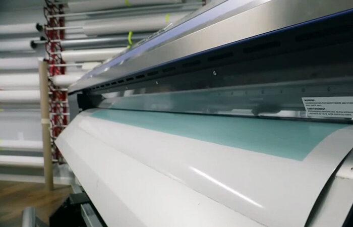 Streamline printer in action